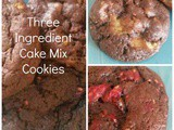 3 Ingredient Chocolate Cake Mix Cookies *Food Allergy Friendly