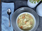 5 Minute Allergy Friendly Chicken Soup