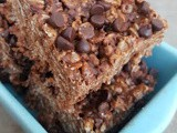 Chocolate Rice Krispies Treats + Food Allergy Substitutions