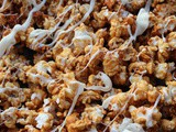 Coconut Sugar Caramel Popcorn + Thrift Store Shopping Online
