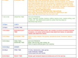 Covid-19 Daily At Home School Schedule + Thank You From Our Family