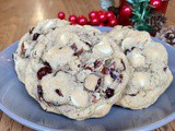 Cranberry White Chocolate Pecan Cookies