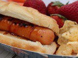 Healthier State Fair Style Hot Dogs (With JDawgs Hot Dog Sauce!)