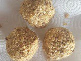 No Bake Oatmeal Toffee Bites