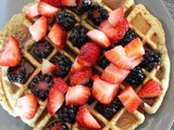 Protein Waffles + Easter