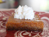 Sheet Pan Pumpkin Pie + Homecoming and cvx Live 2019