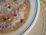 Slow Cooker Chicken and Wild Rice Soup