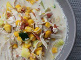 Summer Chicken Corn Chowder