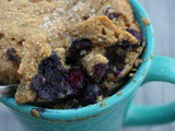 Two Minute Protein Blueberry Muffin + Planting Season
