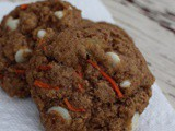 White Chocolate Chip Carrot Cake Cookies + Girls Got game