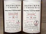 Hepburn's Choice is my choice in single malt scotches