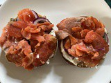 Recipe: diy Lox and Bagel
