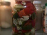 Recipe: Giardinara (Mixed Pickled Vegetables)