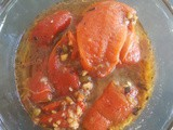 Recipe: Marinated Roasted Red Peppers