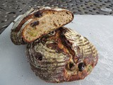 Recipe: Olive Bread with Rye Starter