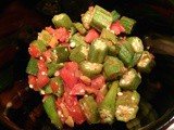 Recipe: Sauteed Okra with Tomatoes