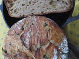 Recipe: Sourdough Olive Bread