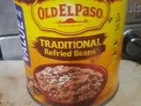 Refried beans from the can