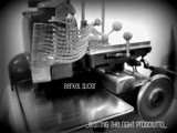Black and White Wednesday - Affettatrice Berkel - Berkel slicer