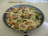Asian Meatball Lo-Mein
