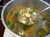 Asian Turkey-Sausage Soup