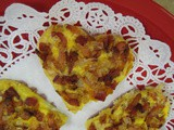 Bacon-Onion Heart Quiche