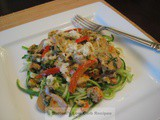 Caribbean Shellfish on Zoodles