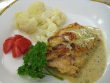 Chicken in Sofrito Cream