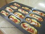 Chicken-Pizza Logs