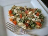 Chicken with Spinach & Eggs