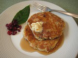 Cranberry Walnut Pancakes