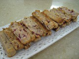 Cranberry Walnut Sandies