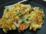 Creamy, Smoky Turkey Casserole