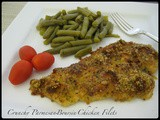 Crunchy Parmesan-Boursin Chicken Filets