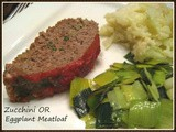Eggplant (or zucchini) Meat Loaf
