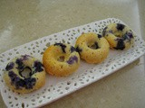 Einkorn Blueberry Donuts