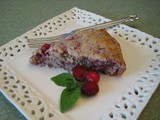 Einkorn Cranberry Walnut Cake