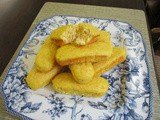 Einkorn Pineapple Sweet Potato Logs