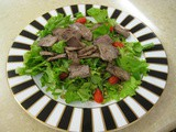 Grass-Fed Roast Beef Pumpkin-Seed Salad