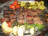 Greek Souvlaki and Grilled Vegetables