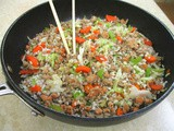 Ground Pork Fried Rice