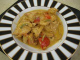 Indian Cashew Chicken Curry