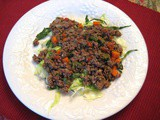 "Indian Kheema Matar (Beef with ""Peas"" and Mint)"