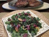 Kale-Cranberry-Walnut Salad
