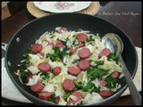 Kielbasa with Cabbage & Kale