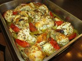 Mediterranean Roasted Chicken and Cauliflower