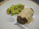 Mexican Meatloaf with Creamy Chili Sauce