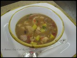 Mexican Turkey-Squash Soup