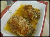 Mushroom-Spinach Stuffed Chicken Breasts