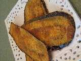 Oven-Fried Eggplant